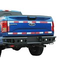 2015-2020 F150 Tubular Steel Rear Bumper with LED Mounts 05