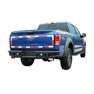 2015-2020 F150 Tubular Steel Rear Bumper with LED Mounts 06