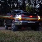 09-14 F150 & Raptor Recon Smoked CCFL Halo Projector Headlights 17