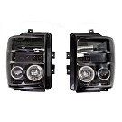 2008-2010 F250 & F350 Super Duty S3M Recon Smoked Lighting Package 15