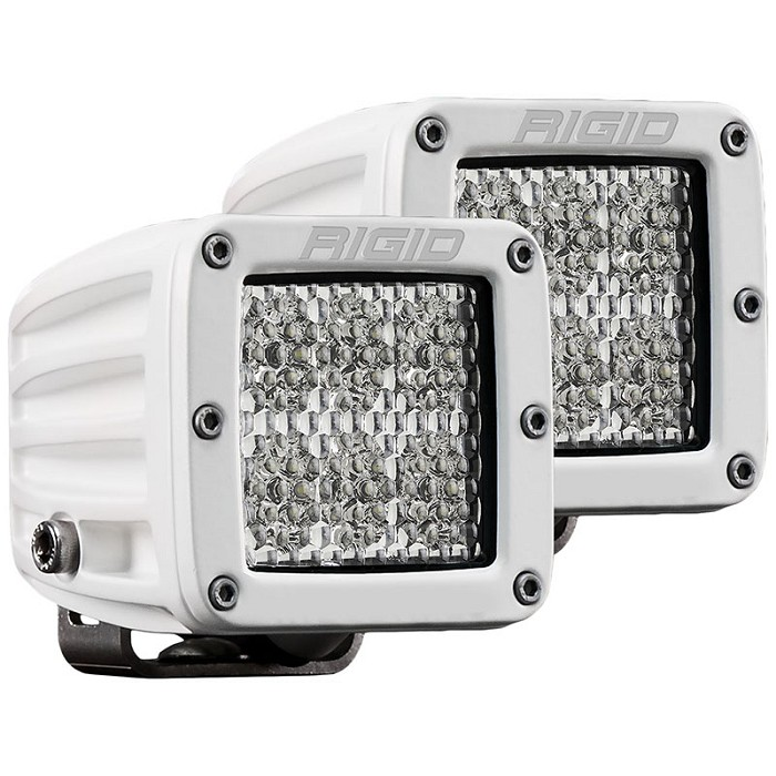 Rigid Industries Marine Dually D2 Pro LED Lights - White - Diffused - Pair