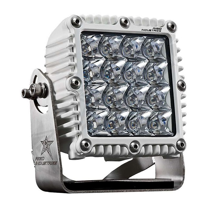 Rigid Industries Marine Q-Series Pro LED Light - White - Hybrid - Spot - Single