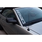 Stage 3 Motorsports Side-Style Vertical Windshield Banner 11