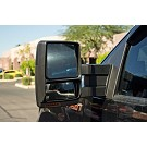 2007-2014 F150 Tow Mirrors with Puddle Lights (Black Textured) 14