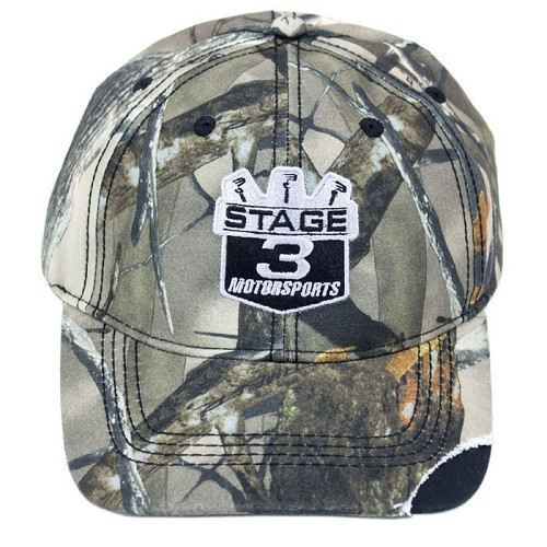 Stage 3 Motorsports Curve-Billed True Timber Camo Hat