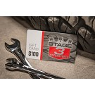 $100 Stage 3 Motorsports Gift Card  02
