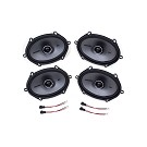 2004-2014 F150 & Raptor Kicker KSC68 6x8 Door Speaker Upgrade Kit - CrewCab & SuperCab 01
