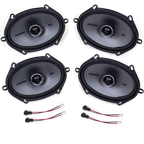 19992007 f250 amp f350 super duty kicker ksc684 6x8 speaker