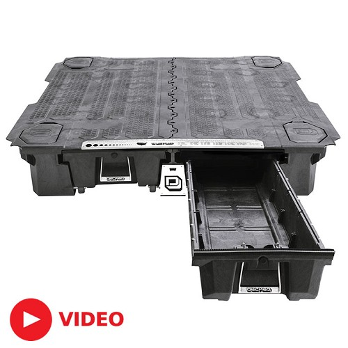 2004-2014 F150 & Raptor DECKED Truck Bed Sliding Storage System - (5.6ft Bed)