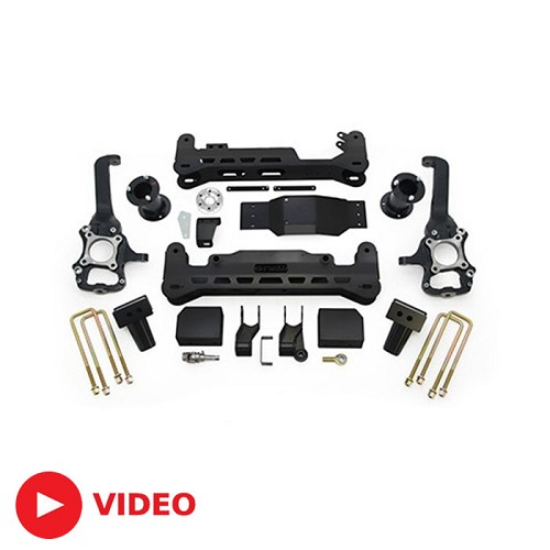 "2015-2018 F150 4WD ReadyLift 7"" Suspension Lift Kit with Shocks"