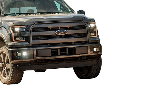 2015-2017 F150 S3M Complete Rigid D-Series Fog Light Package