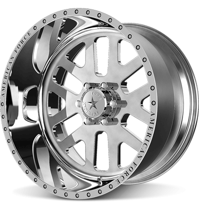 1999-2019 F250 & F350 American Force 22x11 Baus SS8 Wheel - Polished