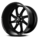 1999-2019 F250 & F350 American Force 22x10 Blade SS8 Wheel - Flat Black/Machined 01
