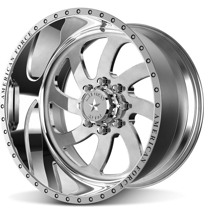 1999-2020 F250 & F350 American Force 22x11 Blade SS8 Wheel - Polished