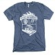 Stage 3 Motorsports Heather Blue Rugged Logo T-Shirt