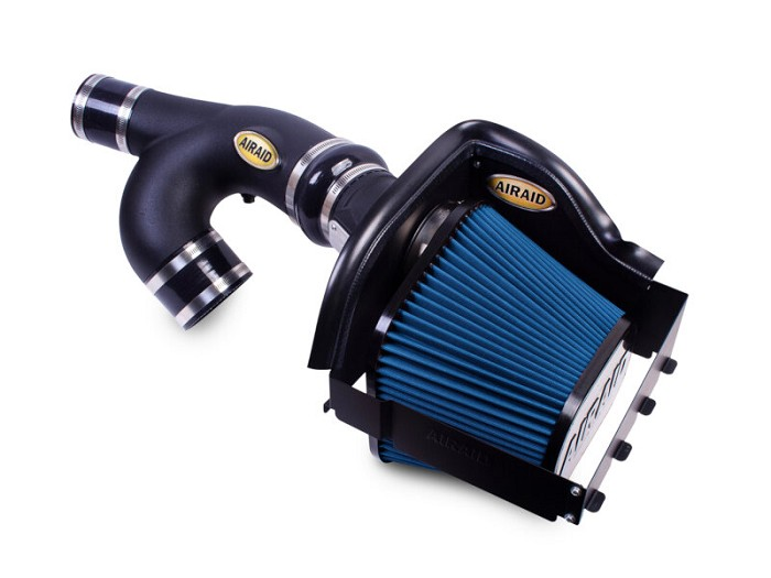 2015-2017 Expedition 3.5L EcoBoost Airaid Complete Blue SynthaMax Cold Air Intake Kit (Dry)