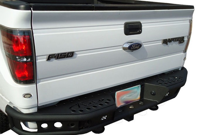 2009-2014 F150 & Raptor ADD Dimple Rear Off-Road Bumper No Sensors