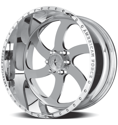 2004-2021 F150 American Force 20x14 Blade SS6 Wheel - Polished