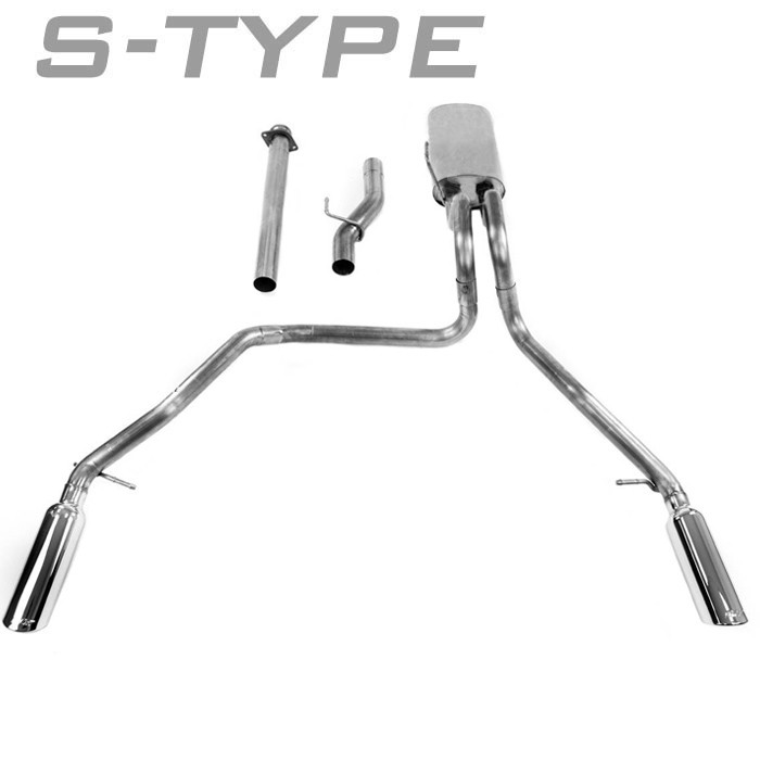 2011-2014 F150 5.0L Borla S-Type Cat-Back Exhaust System