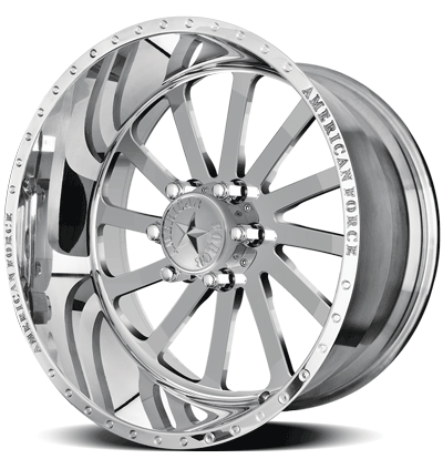 2004-2019 F150 American Force 20x9 Burnout SS6 Wheel - Polished