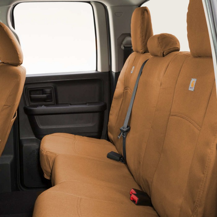 2019 Ford Ranger Carhartt Rear Row Seat Covers Brown