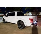 2018-2019 F150 ANZO DRL Outline LED Taillights (Black Housings) 02