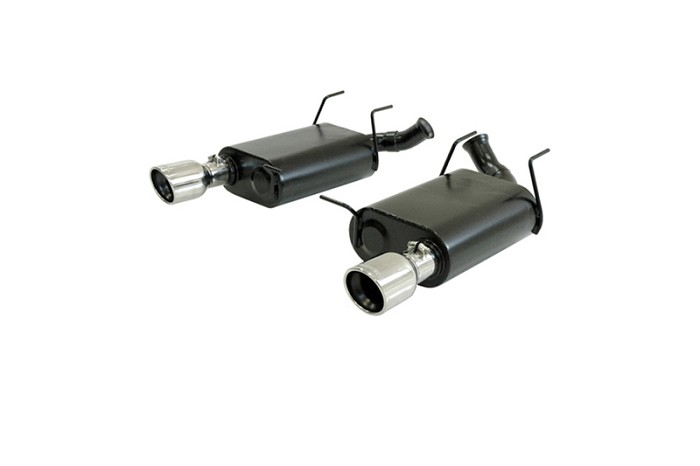 2011-2012 Mustang V6 3.7L Flowmaster Force II Axle-back Exhaust System