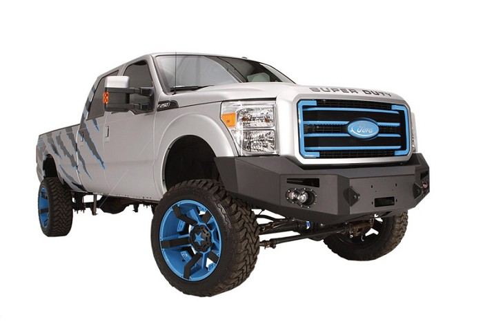 2011-2016 F250 & F350 Fab Fours Front Winch Bumper