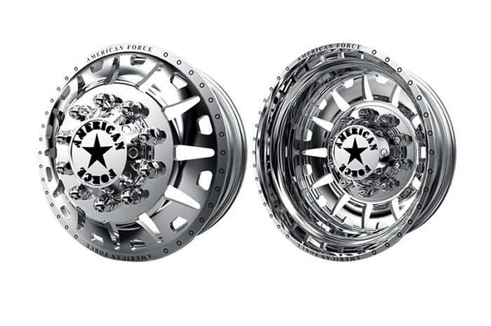 2005-2020 F350 Dually American Force G13 Bully 20x8.25