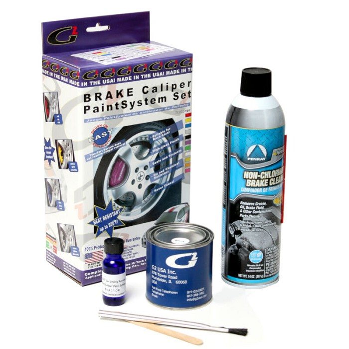G2 Brake Caliper Paint System - Custom Ford Color (Vintage Copper Orange)