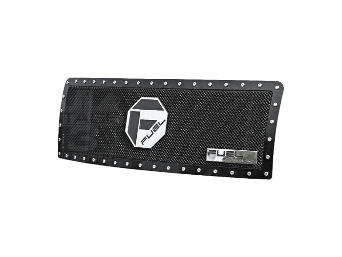 2013-2014 F150 Fuel Off-Road Black Steel 1-Piece Grille