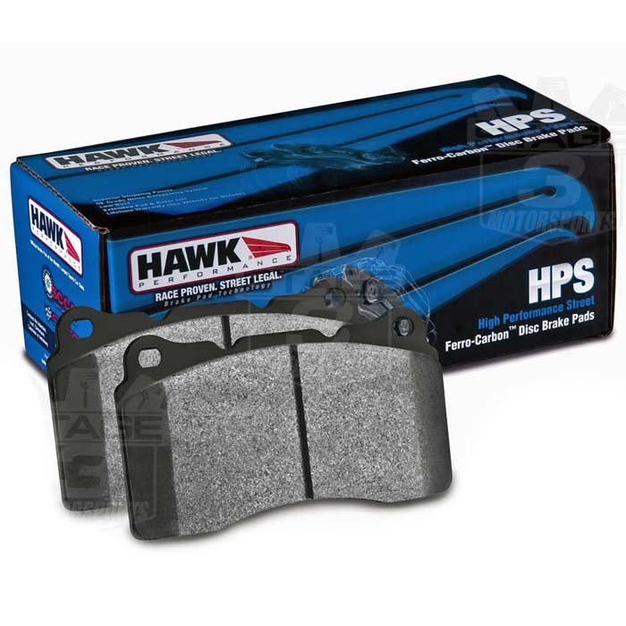 1999-2004 Mustang Cobra / Mach 1 Hawk HPS Rear Brake Pads