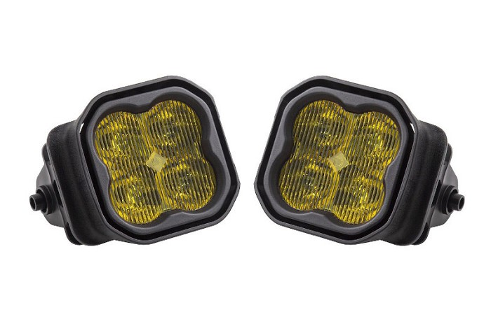 2017-2020 F250 & F350 Diode Dynamics Worklight SS3 Pro Type F2 Kit Yellow SAE Fog