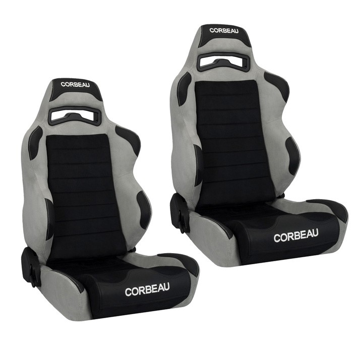 Corbeau Lg1 Racing Seat Wide Version Black Grey