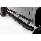 09-14 F150 SuperCab Lund Black Curved Oval Nerf Bars 02