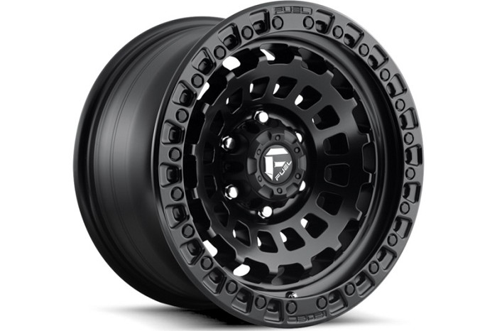 6x139.7mm Bolt Pattern Fuel Zephyr D633 17x9