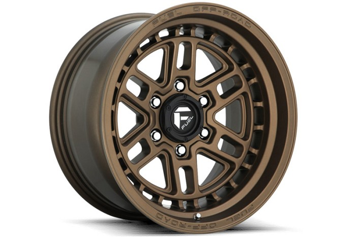 6x139.7mm Bolt Pattern Fuel Nitro D669 17x9
