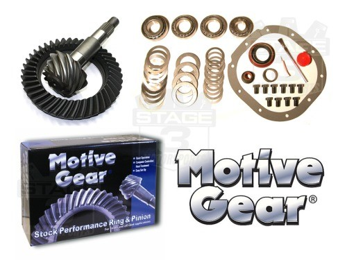Motive 3.73 Gears & Install Kit (Ford 8.8)