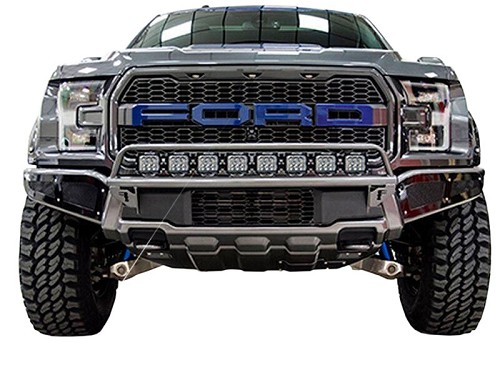 2017 2018 raptor n fab front bumper light bar with pre runner hoop front bumper light bar with pre runner hoop hover to zoom aloadofball Image collections