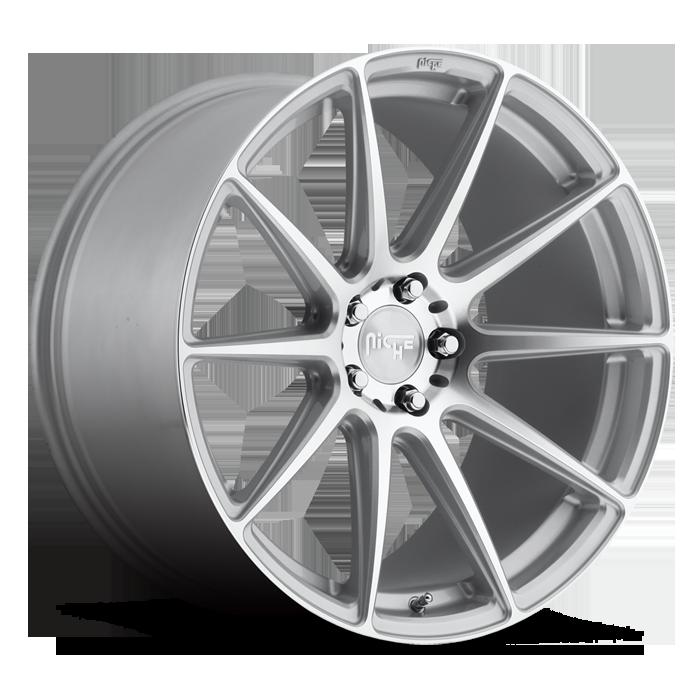 857fa288c8c ... Wheel 5x114.3mm (Silver Machined). 2005-2017 Mustang Niche Essen 20x10