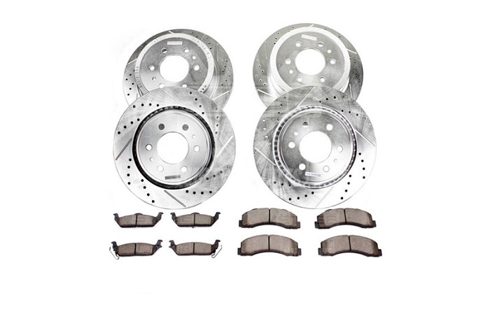 1999 Super Duty 4WD Power Stop Z36 Truck & Tow Complete Brake Kit