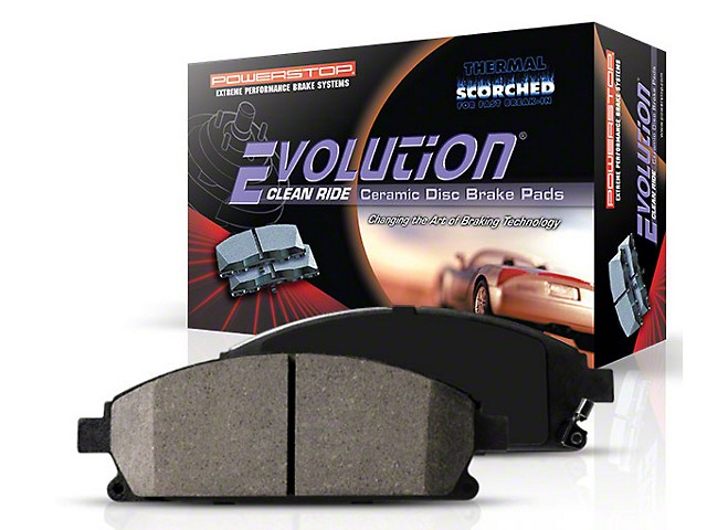 2004-2008 F150 Power Stop Z16 Ceramic Rear Brake Pads
