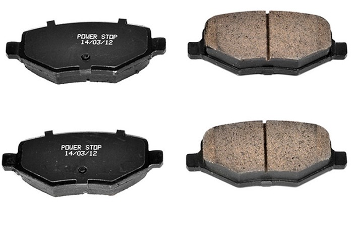 10-12 Taurus SHO Power Stop Z23 Evolution Sport Front Brake Pads (Performance Pack)