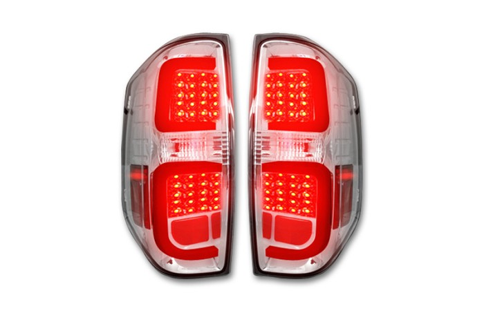 2014-2020 Tundra RECON LED Taillights (Chrome/Clear)