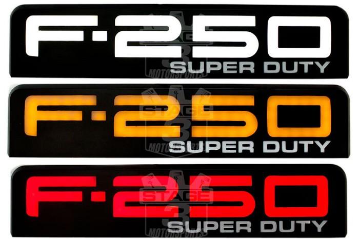 2008-2010 F250 Super Duty Recon Illuminated Side Emblems ...