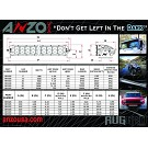 ANZO Rugged Vision 52 Inch Off-Road LED Light Bar - White - Spot 02
