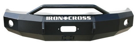 2004-2008 F150 Iron Cross Replacement Front Bumper - Push Bar Model (Winch Ready)