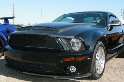 2007 2009 Shelby Gt500 Trucarbon A53kr Venom Hood 10024 A53kr