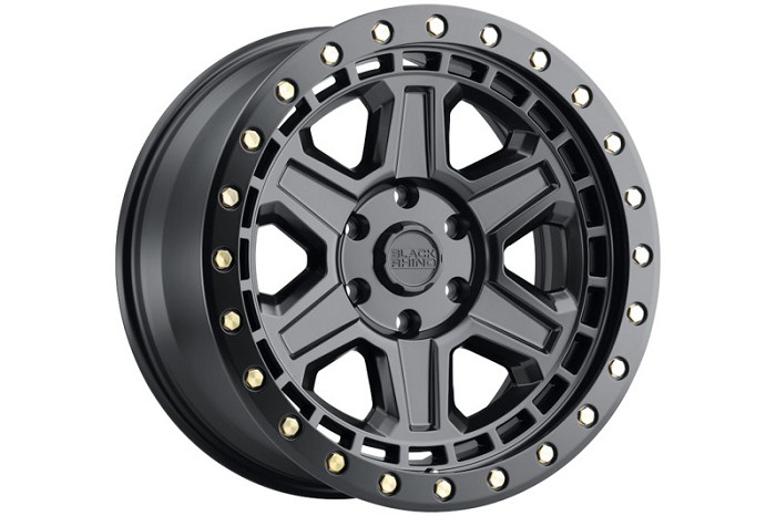 6x139.7mm Bolt Pattern Black Rhino Reno 17x9