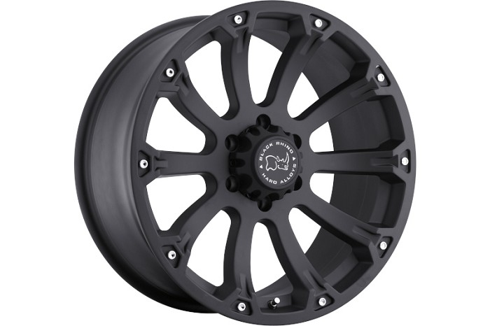 6x139.7mm Bolt Pattern Black Rhino Sidewinder 17x9